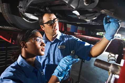 Auto Mechanic junior college subjects