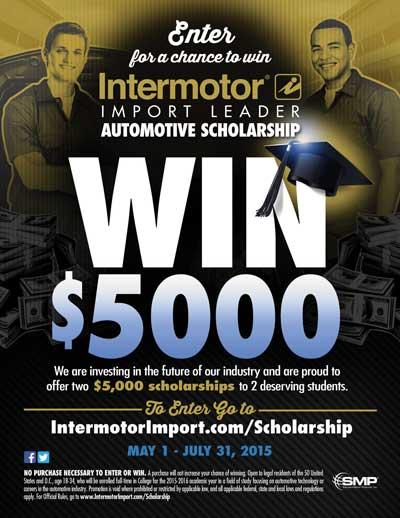 Intermotor scholarship
