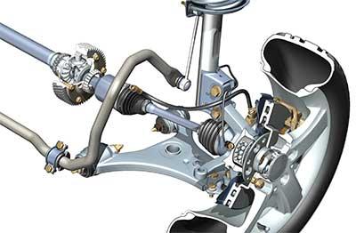 Press in wheel bearings