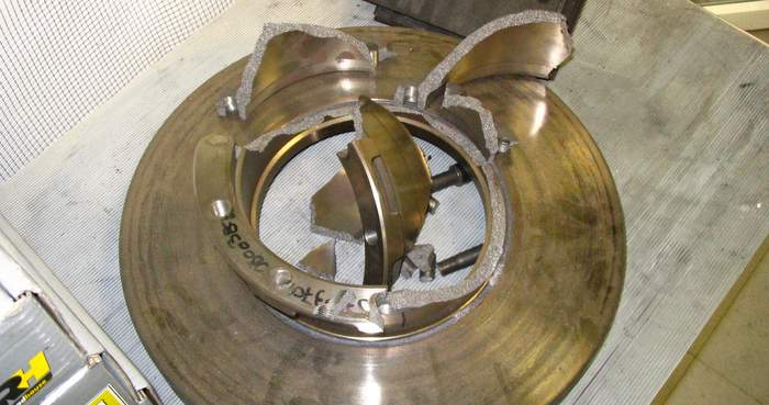 Cracked-rotors