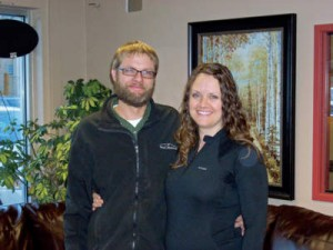 Owners Adam and Annette Kracl.