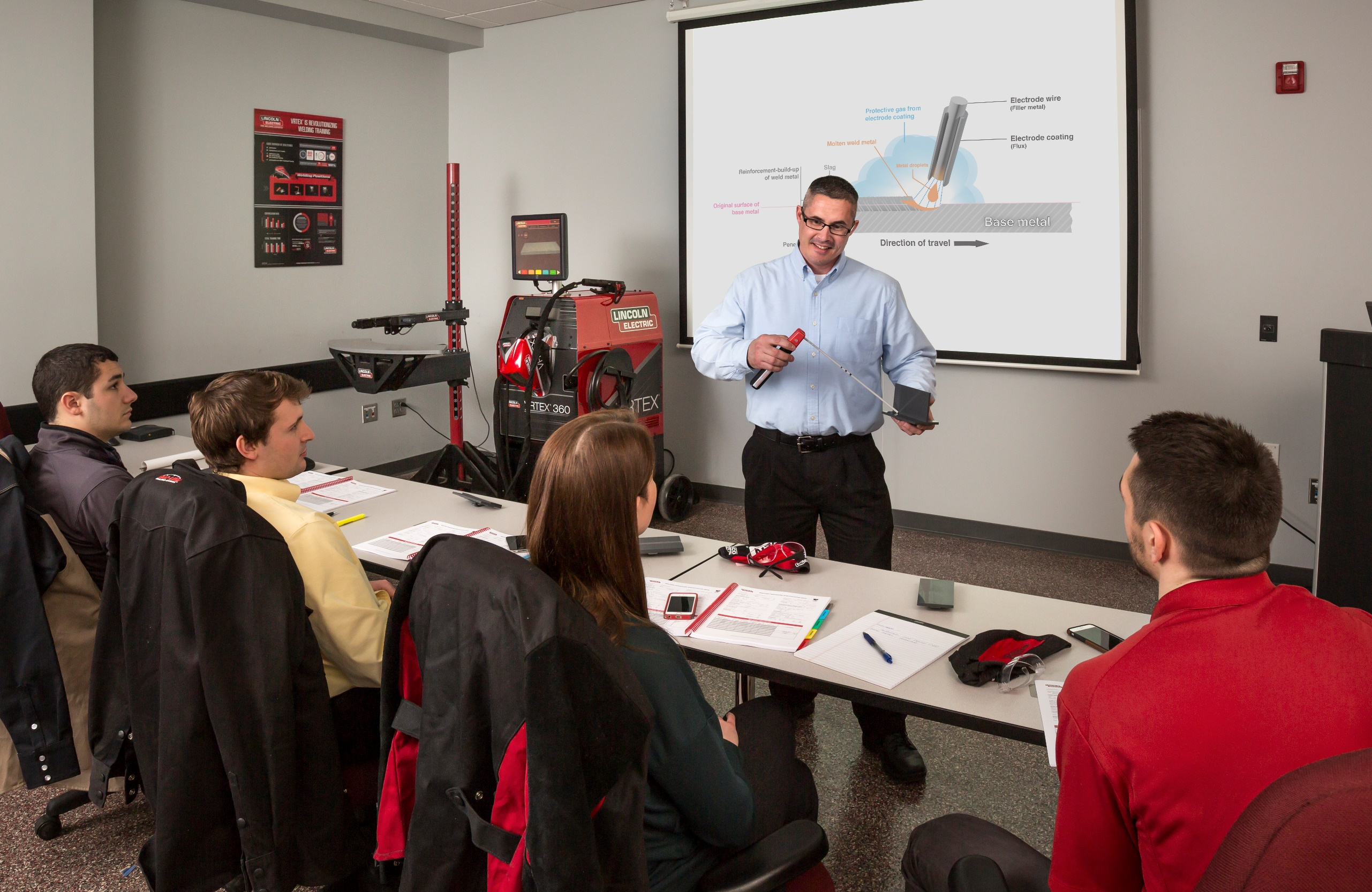 robotic as establish lincolnelectric canyons partners school education with partner college training in for to of first official leeps lincoln electric coc the welding partnered