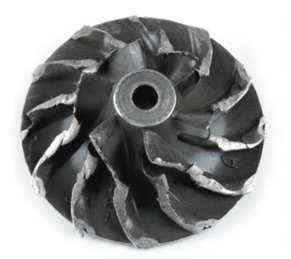 Impeller-after-housing-contact