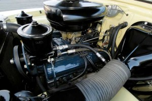 By 1953, Cadillac's V8 engines were cranking out 210 hp.