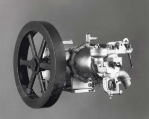 The 1902 Cadillac single-cylinder engine displaced 98.2 cu. in. and generated 10 hp.