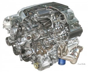 Beginning in 1996, all Cadillacs except the Fleetwoods used the 4.6L Northstar V8.