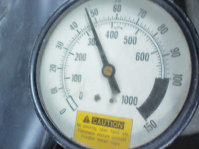 I monitor fuel pressure by attaching a fuel pressure gauge. While 48 psi is normally too low for a Vortec engine, it didn't seem to affect starting or idling.