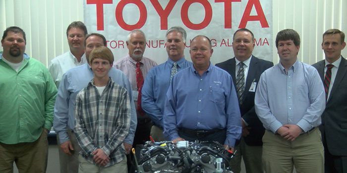 Captivating Toyota Donates 45 Engines To North Alabama Schools