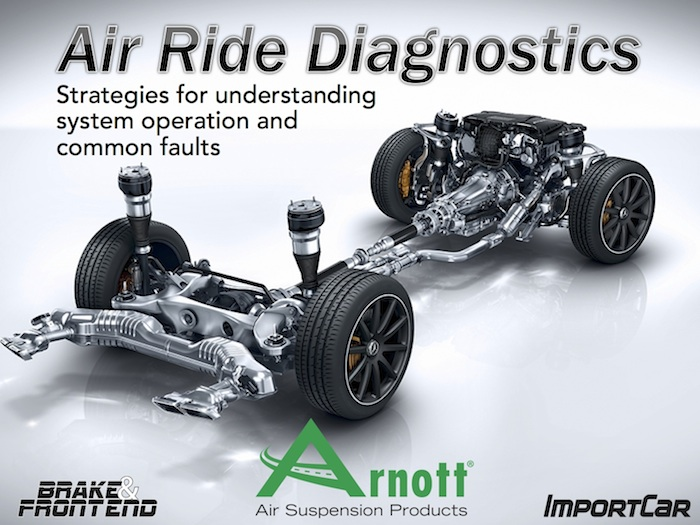 Air ride training sponsored by arnott air suspension for Motor vehicle suspension nj