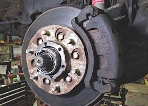 Be careful when pricing rotor replacement, as it's more labor intensive with a captive rotor.