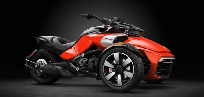 Spyder F3-S with SPORT Mode