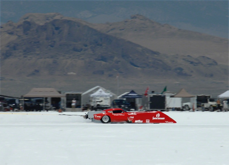3 mile chute (Photos by Landspeed Louise)
