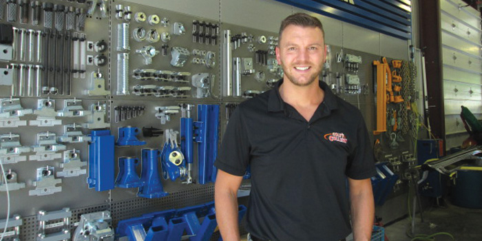 Josh Jewett, general manager of Cole's Collision.