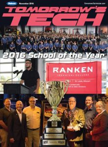 November Tomorrow's Tech School of the Year