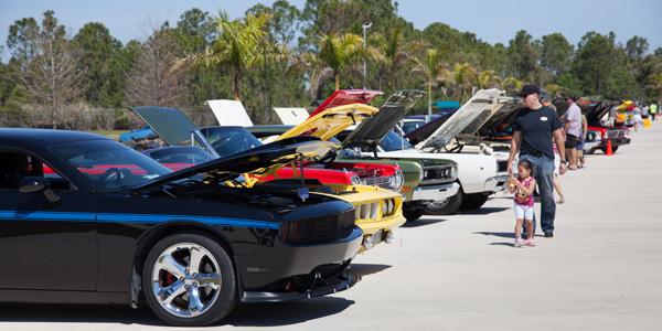 Car Show Heats Up Brevard County Auto Program - American muscle car show