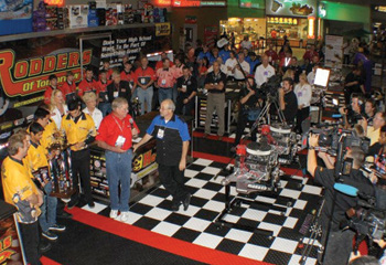 Photo 4: Awards ceremony during the SEMA Show.