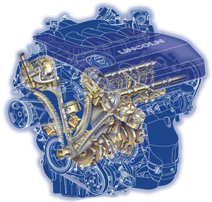 The  L Duratec V Was Introduced In  To Replace The Aging  L V In The Ford Taurus And Mercury Sable Unlike Its Conventional Pushrod Predecessor