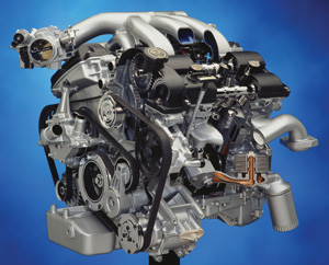 engine series a decade of the duratec servicing ford s 3 0l engine rh tomorrowstechnician com Ford Pinto Engine Ford Fusion Car