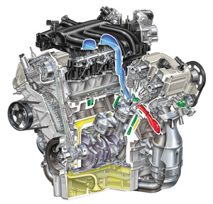 similiar 2006 ford fusion engine keywords engine series a decade of the duratec servicing ford s 3 0l