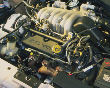 engine series a decade of the duratec 30 rh tomorrowstechnician com 1999 Ford Taurus 3.0 Engine 95 Ford Taurus Engine Diagram