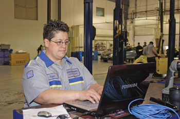 Wierenga feels that the time is right for women to consider a career in automotive repair.