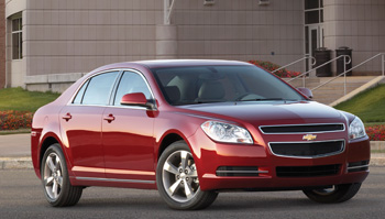 four teams will service  and repair a 2011 chevrolet malibu.