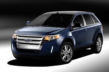 The 2011 Ford Edge will be used for two teams during the national competition.