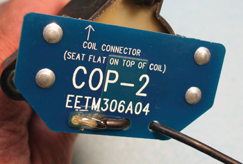 Photo 4: COP adapters are supplied by most automotive oscilloscope manufacturers.