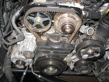 Under The Hood Perfect Timing Timing Belt Service For Toyota S Vvt 1 Engine