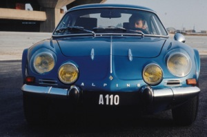 The Renault A110 in 1975