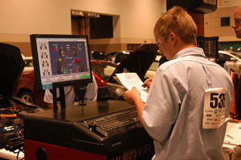 automotive service technology competition