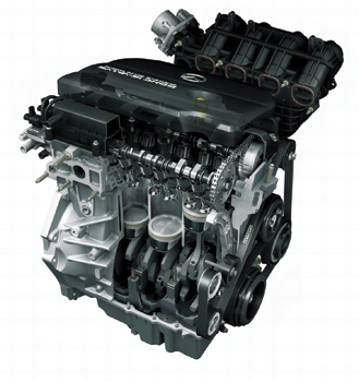 mazda 3 and 6 engines through the years