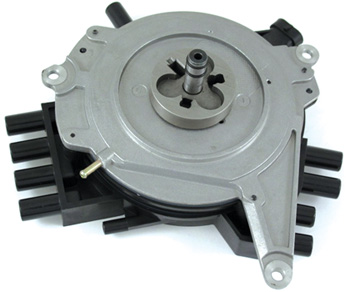 the front mounted opti-spark dstributor.