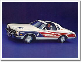 1975 Buick Century Pace Car Replica